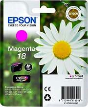 Epson Cartuccia Inkjet Originale Clara Home Magenta C13T18034020