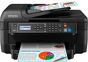 Epson WF-2750DWF Stampante Multifunzione Wifi InkJet A colori Fax Scanner WF-2750 WorkForce