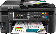 Epson Stampante Multifunzione a Colori A4 A5 A6 WorkForce WF-3620DWF