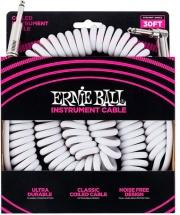 Ernie Ball 6045 Cavo chitarra Jack EB Bianco 9mt