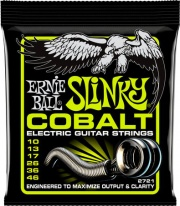 Ernie Ball EB2721 Set 6 corde chitarra elettrica muta  Regular Slinkly 10-46