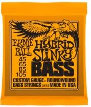Ernie Ball EB2833 Set corde basso muta 4 corde Hybrid Slinky