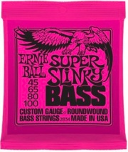 Ernie Ball EB2834 Set corde basso muta 4 corde Super Slinkly