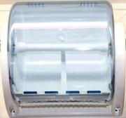 Essebidue 9091465 Portapulitutto Da Parete 36x30 cm Bianco