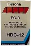 Etona 034D124702 Confezione 5 Caricatore Da 210 Punti Hdc-12