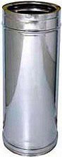 Europrofil Tubo Doppia parete acciaio Ø 1015cm Lunghezza 100cm TUBACCDP10015010