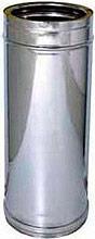 Europrofil Tubo Doppia parete acciaio Ø 1015cm Lunghezza cm 50 TUBACCDP10015050