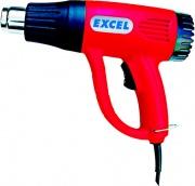 Excel TS2000 Pistola Termica Aria Calda Termosoffiatore Potenza 2000 W max 600 C