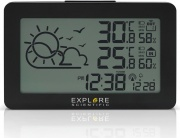 Explore Scientific WSH4002 Sveglia Digitale Orologio Temperatura Radio Nero