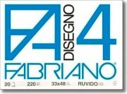 FABRIANO 05000797S Album Disegno F4 4 Angoli Ruvido 33X48