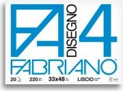 FABRIANO 05200797S Album Disegno F4 4 Angoli Liscio 33X48
