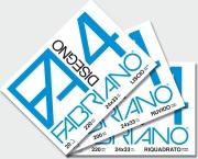 FABRIANO 05201597S Album Dis F4 4 Angoli Lis Riq 24x33