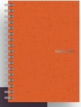 FABRIANO 14821053 Confezione 5 Ecoqua A5 Spiralato 5 mm Arancio
