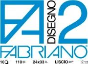 FABRIANO 4204310 F2 Confezione 10 Album da 20 fogli Liscio Riquadrato 5 mm