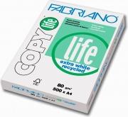 FABRIANO 48521297 Risma Carta A4 5 Risme da 500 Fogli Bianco Copy Life