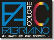 FABRIANO 65251524 Confezione 5 Album colore 5 Colori assortiti