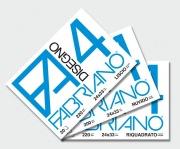 FABRIANO 8001348161455 Album da disegno F4 20 fogli 4 angoli Ruvido 24x33 cm