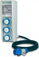 FANTON 74.309 Quadro Elettrico Portatile con interruttore generale 220 V  Ulisse