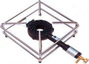 FDA Donati 103 Fornellone a Gas Fornello GPL 30x30x14 cm Bruciatore in ghisa