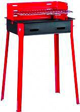 FD CASA 30x45 Barbecue Carbone Carbonella da giardino in Acciaio