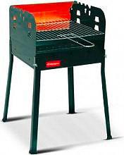 FERRABOLI 243 Barbecue Carbonella Carbone da giardino 35x35 cm col Nero Ciao