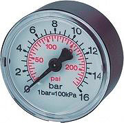 FIAC BM108074 Manometro per compressore Diametro 60