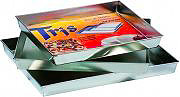 FILCASALINGHI Set di 3 Teglie Rettangolari da Forno cm. 28x3230x3632x40 - 402