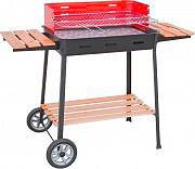 FILCASALINGHI 860 Barbecue Carbone Carbonella da giardino con Ruote Excelsior