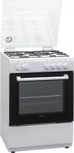FINLUX FXMC66WEM Cucina a gas 4 Fuochi Forno Elettrico 60x60 cm Bianco