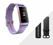 FITBIT 40-37-4969 Charge 3 Smartwatch Orologio Cardio Impermeabile Rose Gold