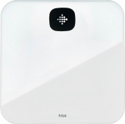 FITBIT FB203WT Bilancia Pesapersone Digitale Bluetooth 180 kg Vetro Bianco  Air