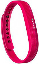FITBIT Orologio fitness Bluetooth Contacalorie Impermeabile Magenta Flex 2