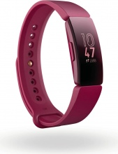 FITBIT FB412BYBY Smartwatch Android GPS Orologio fitness Cardio Rosso  Inspire