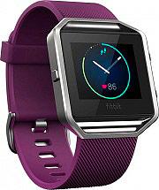 FITBIT Blaze - Orologio Fitness Cardio Bluetooth AndroidiOS Viola FB502SPML-EU