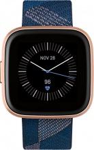 FITBIT FB507RGNV Versa 2 Smartwatch Orologio Cardio GPS Altimetro Bluetooth Blu