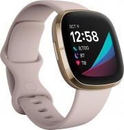 FITBIT SENSEWHI Smartwatch Orologio Fitness Cardio Bluetooth 5 ATM Bianco Sense WHI