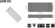 FLI 122320 Alimentatore per Moduli LED 20W DC 12V