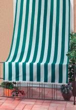 F.LLI CARILLO ID 1818 Tenda da sole tenda antimosche 140x250h cm BiancoVerde