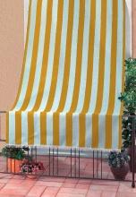 F.LLI CARILLO ID 1822 Tenda da sole tenda antimosche 140x300h cm BiancoGiallo