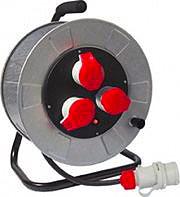 FME 14348 Prolunga Elettrica Avvolgicavo 3 Prese 3P+T 16A cavo mt. 30