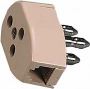 FME 22180 Filtro Telefono Tripolare Adattatore Plug