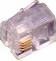 FME 22290 Plug 64 Connettori Telefono Trasparente