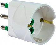 FME Adattatore semplice spina 2P+T 16A S17 - 82610E