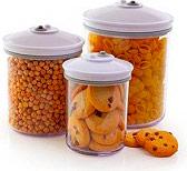 FOODSAVER JC0003 Contenitori per Alimenti set 3 pz 0.71.42.4 litri Trasparente