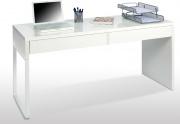 FORES HABITAT 002315A Scrivania ufficio pc 2 Cassetti 138x50xh75 cm Bianco