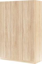 FORES HABITAT LCX053F Armadio 3 Ante legno 135x52x200h cm Rovere
