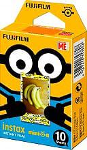 FUJIFILM 16555198 Carta fotografica Pellicola instantanee mini instax Con. 10 fg Minions