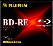 FUJIFILM 48163 Confezione 5 Blu Ray BD-RE 25 GB Riscrivibile