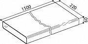 Faber Prolunga tubo rettangolare Accessorio cappa TUBO TR 1500 112.0157.294