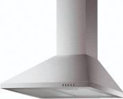 Fabita 25788 Cappa Cucina 90 cm Parete Aspirante a Camino Luce LED Inox  CH08A90